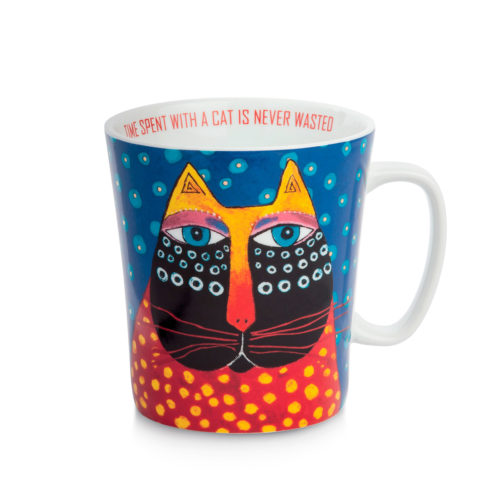 mug Laurel Burch bleu PLB21/1B-Egan